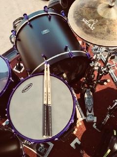 Matte Black Purple Passion Mega:Beat Noise Maker 2018