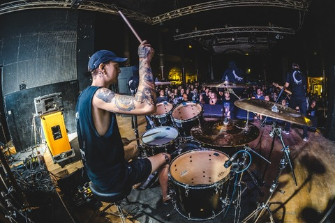 Chemitz, Germany @ AJZ (Eternal Nightmare EU/UK tour w/ Chelsea Grin)