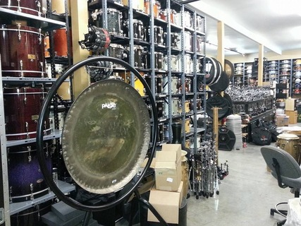 Backline drum shop 2014